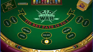 Online Casino War Game